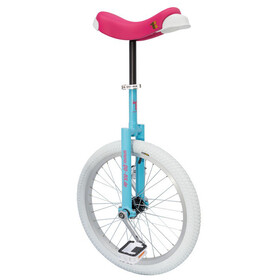 QU-AX Luxus Unicycle blue/pink/white